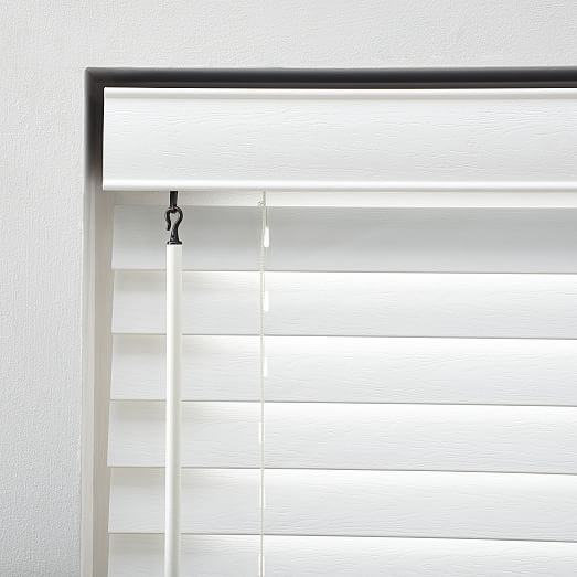 Bali Faux Wood Blinds Small White 20 Faux Blinds Faux Wood