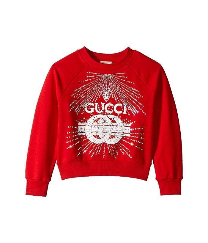 Gucci Kids Embroidered Sweatshirt