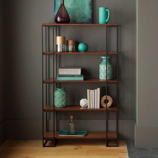 Grid Frame Bookcase - Tall   west elm   499.00   38