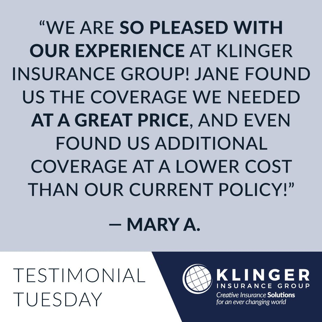 Testimonial Tuesday We Greatly Appreciate Feedback From Our
