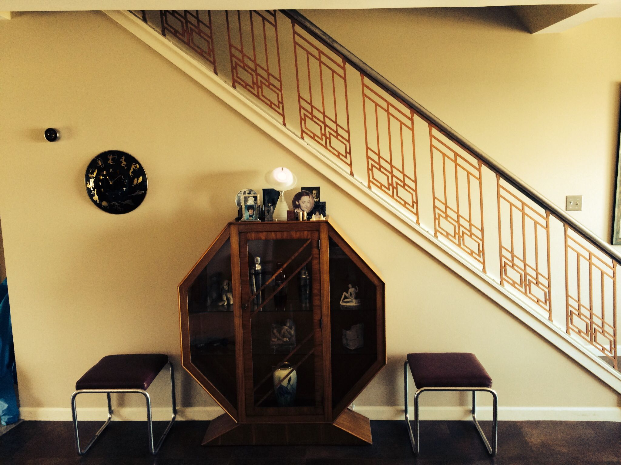 Best Art Deco Cabinet And Stair Railing Art Deco Deco 640 x 480
