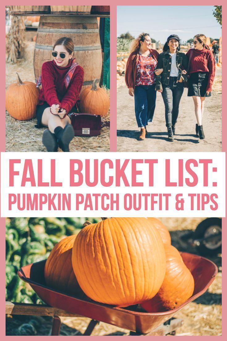 Fall Bucket List: Pumpkin Patch Outfit & Photo Tips #pumpkinpatch Fall Bucket List: Pumpkin Patch Outfit & Photo Tips  #Bucket #fall #List #outfit #patch #Photo #pumpkin #tips #fallbucketlist