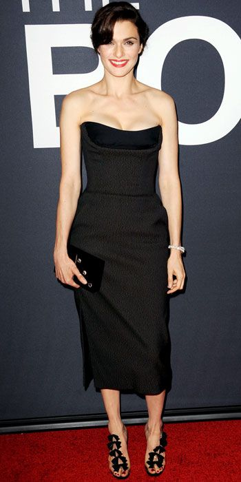 Rachel Weisz -- check out her shoes!!! love.