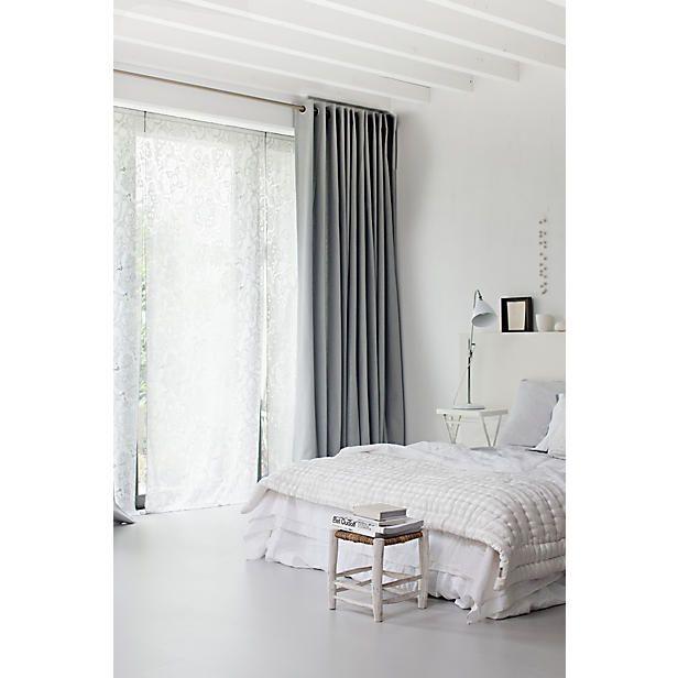 VT Wonen laminaatvloer Loft Kiezel  slaapkamer