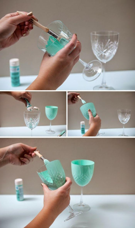 Weingläser Dekorieren 1001 ideen wie sie kreativ weingläser dekorieren können crafty