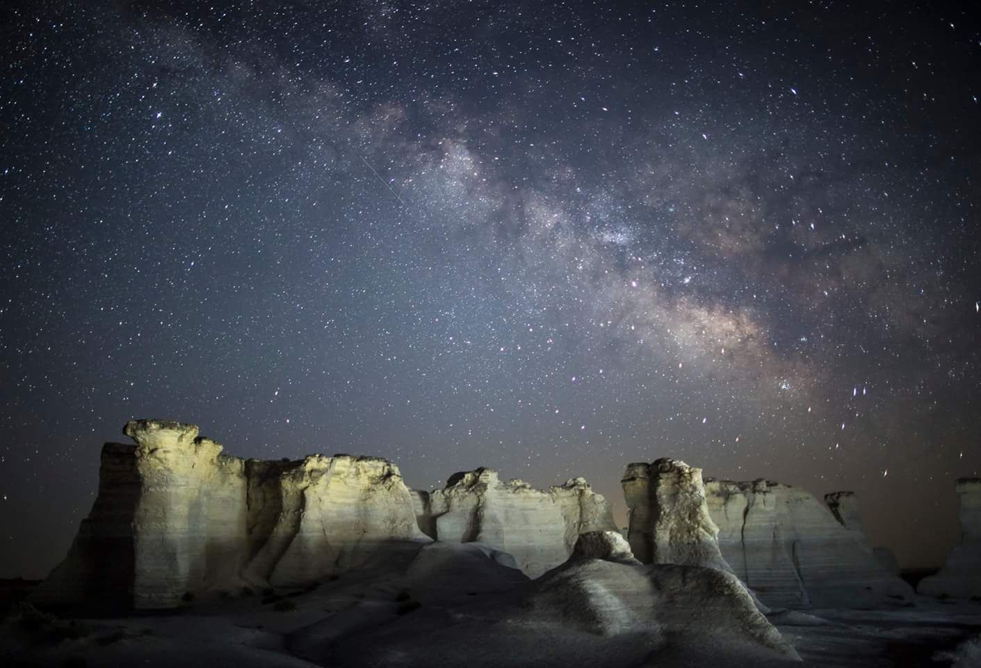 Our Home Over The Monument Rocks In Nw Kansas Https Ift Tt