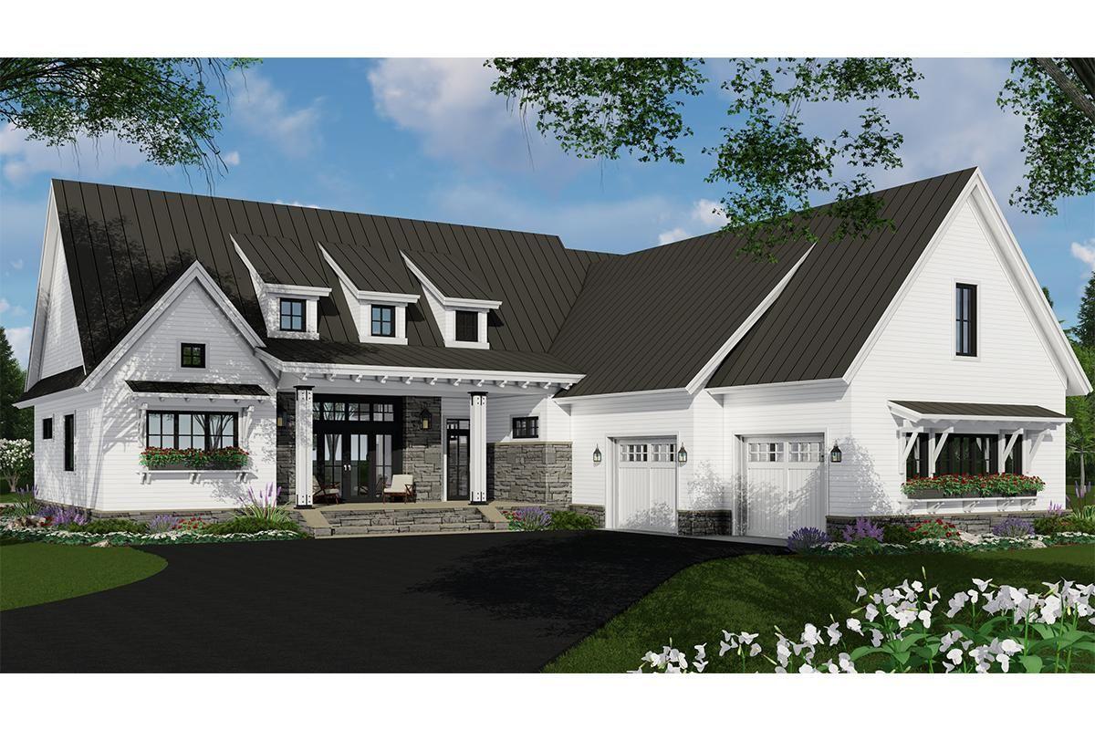 House Plan 09800306 Modern Farmhouse Plan 2,340 Square