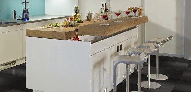Kücheninsel mit theke  Einladende Kücheninsel Flu | Home: Küche / Kitchen | Pinterest ...