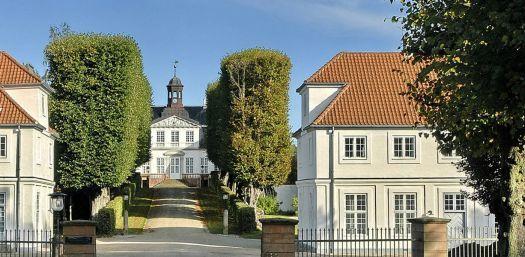 Sorgenfri Castle, Denmark, smaller