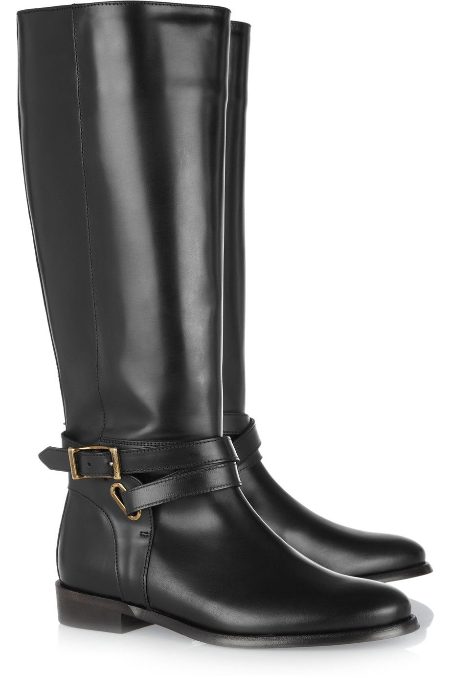 078611a10a2 Burberry Shoes   Accessories Leather riding boots