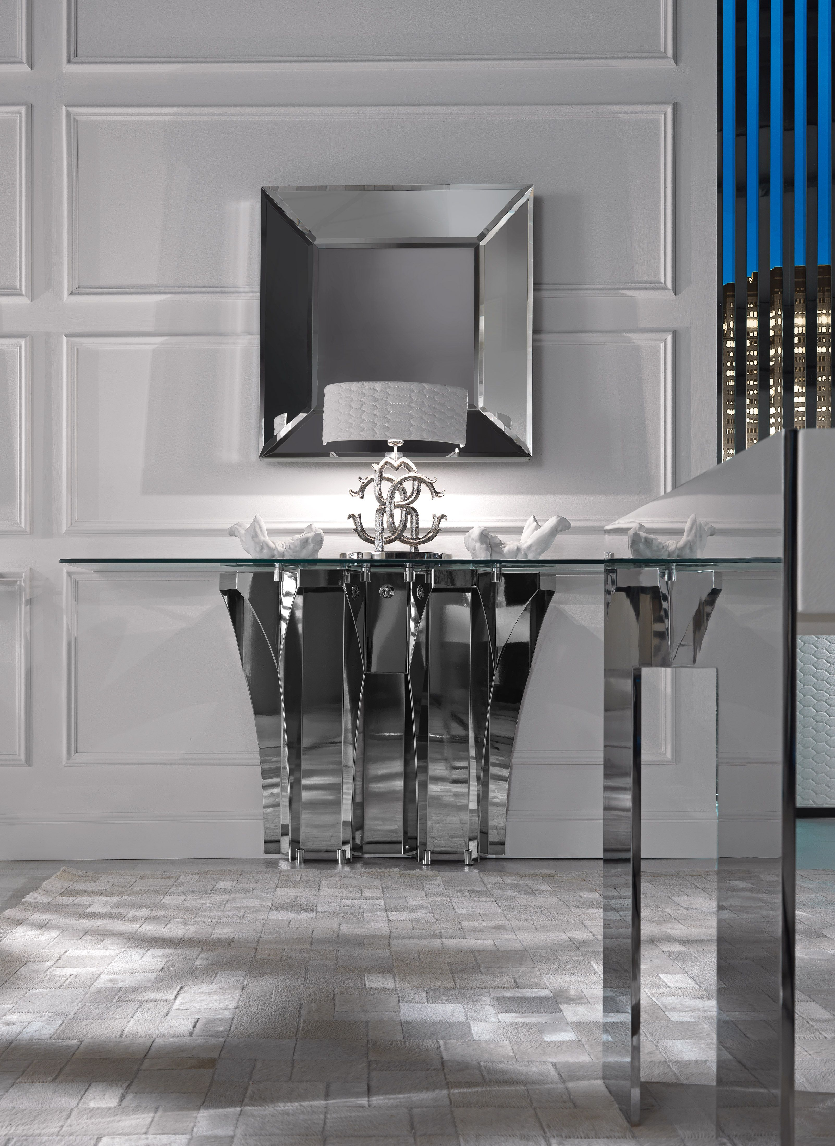 SOHO CONSOLE TABLE by ROBERTO CAVALLI HOME INTERIOR S ESSENTIAL