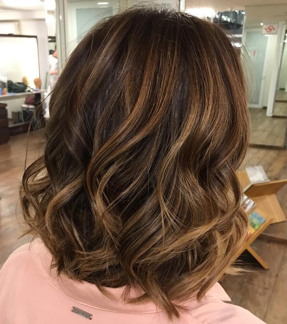 60 Looks with Caramel Highlights on Brown and Dark Brown ... - photo #8