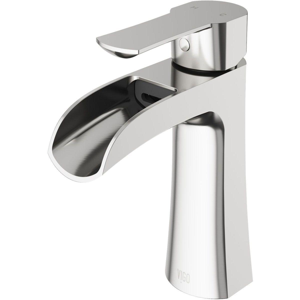 Vigo Vg01041 Single Handle Bathroom Faucet Bathroom Faucets