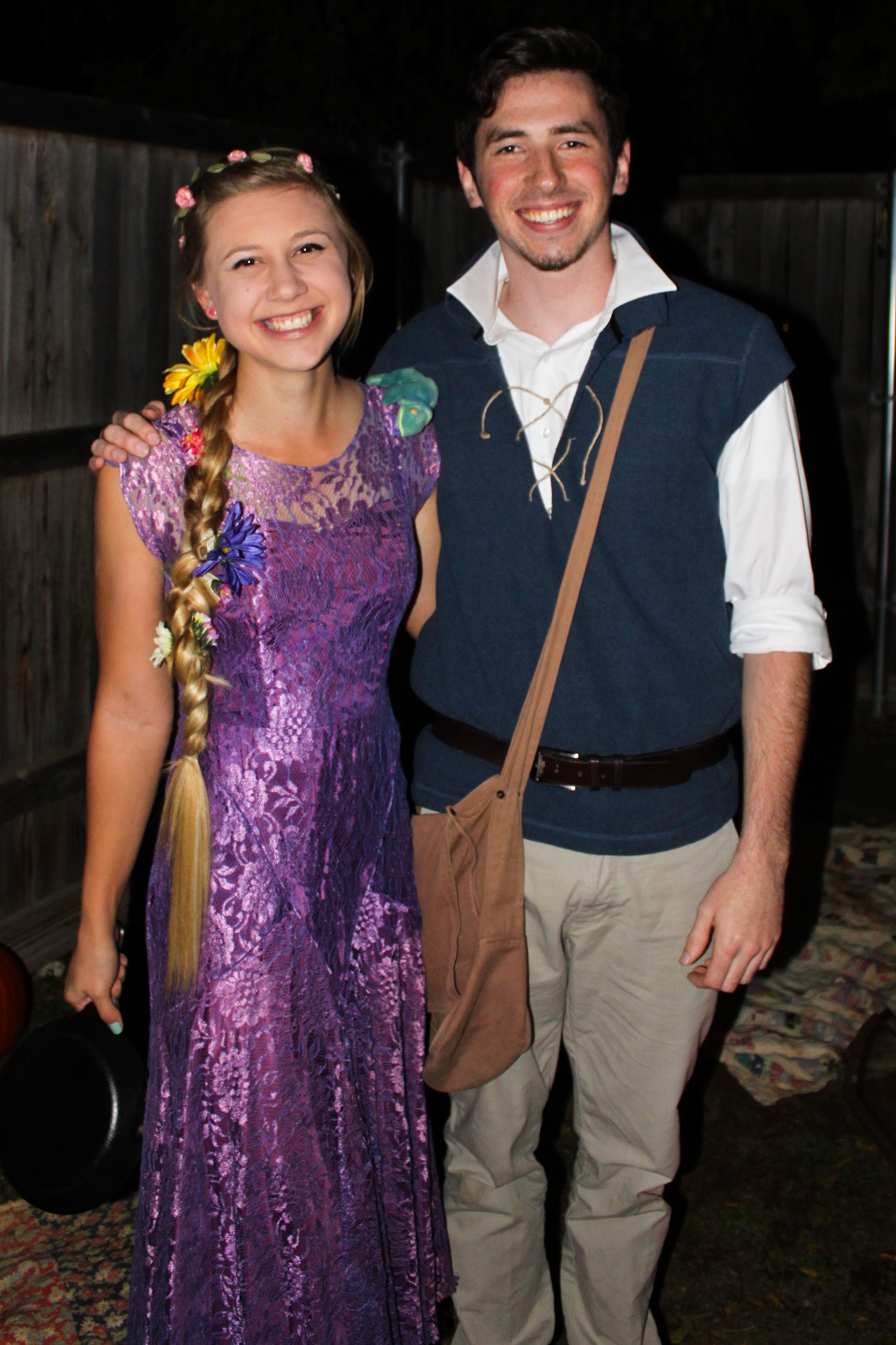 Pin By Jessica On Me Couples Costumes Flynn Rider Costume Rapunzel Costume