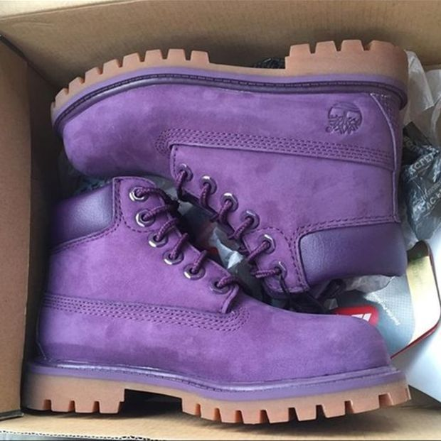 34ef2669e09 Timberland boots for men and women shoes waterproof Martin boots lovers  Purple