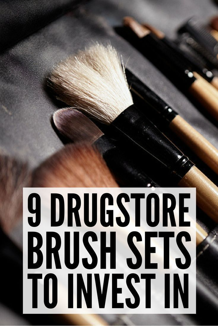 Best Drugstore Makeup Brushes 9 Affordable Brush Kits to