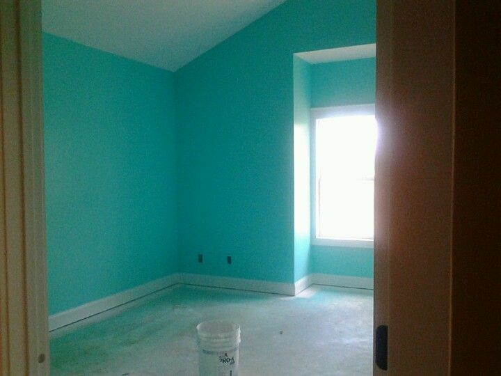 Fabulous My Room 3 Tantalizing Teal From Sherwin Williams Is The Interior Design Ideas Tzicisoteloinfo