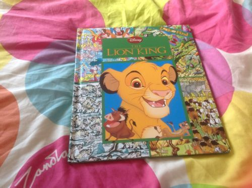 The lion king look and find book,  View more on the LINK: 	http://www.zeppy.io/product/gb/2/282078109488/