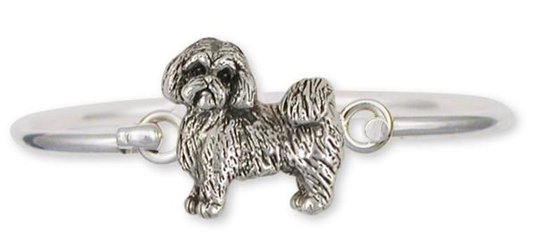 Shih Tzu Bracelet Handmade Silver Shih Tzu Jewelry Sz8 Hb Shih Tzu