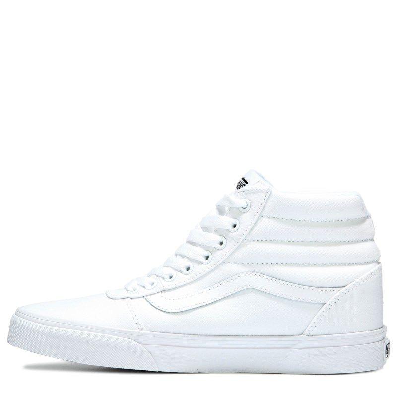vans high tops mens white