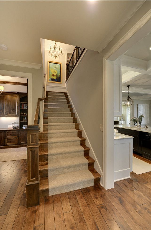 For Back Stairs  Staircase Runner. Beautiful Staircase Runner Ideas.  #Staicase #Runner