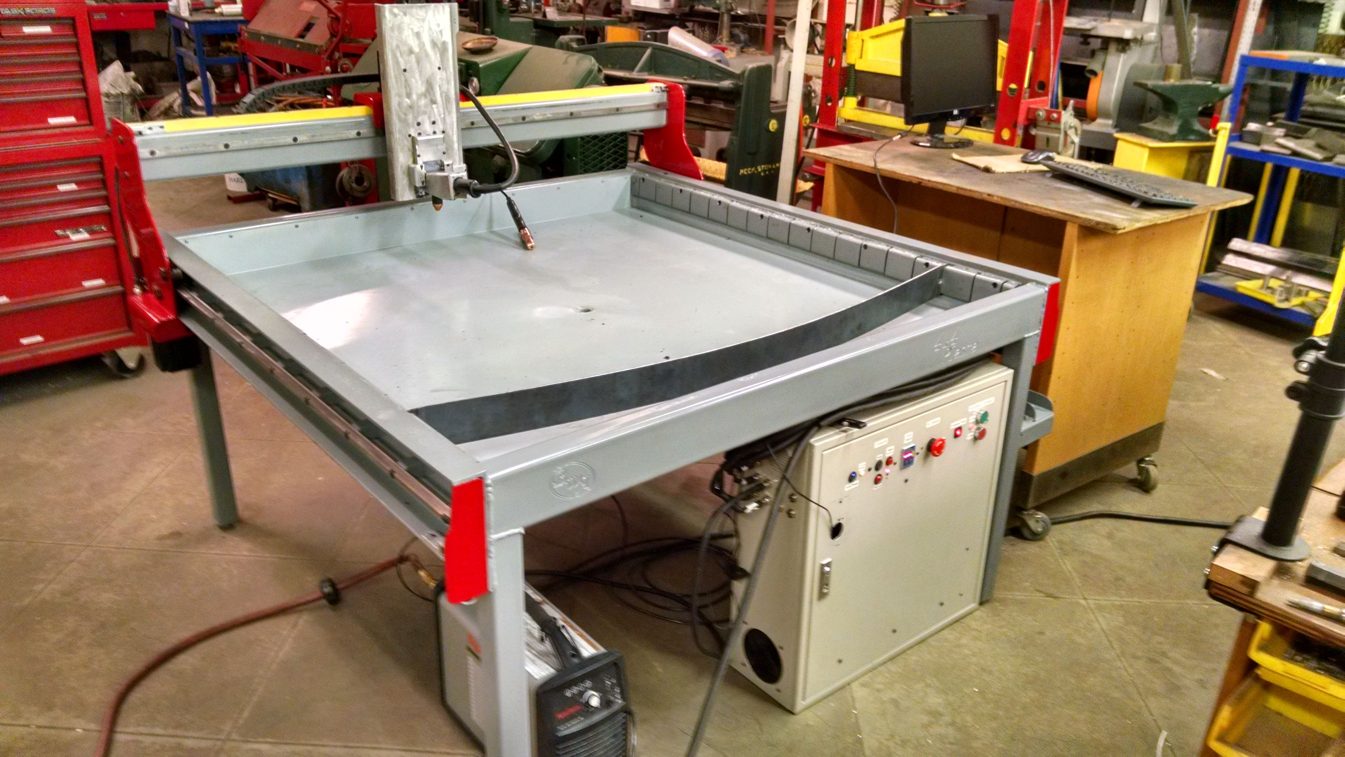 fire plasmac table machine products plasma cutting cnc