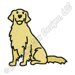 cartoon drawing of a golden retriever google search dawgs