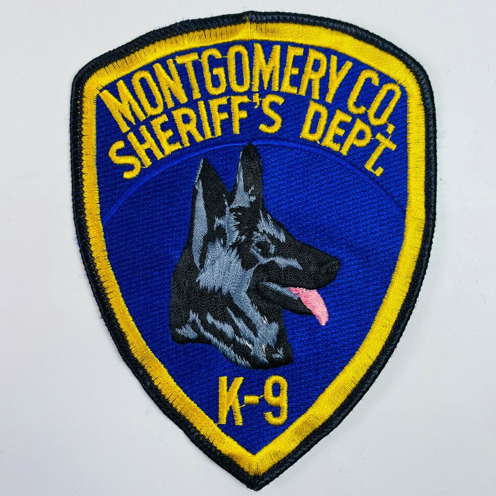 K9 Montgomery County Sheriff New York Patch Patches County Sheriffs Patches For Sale
