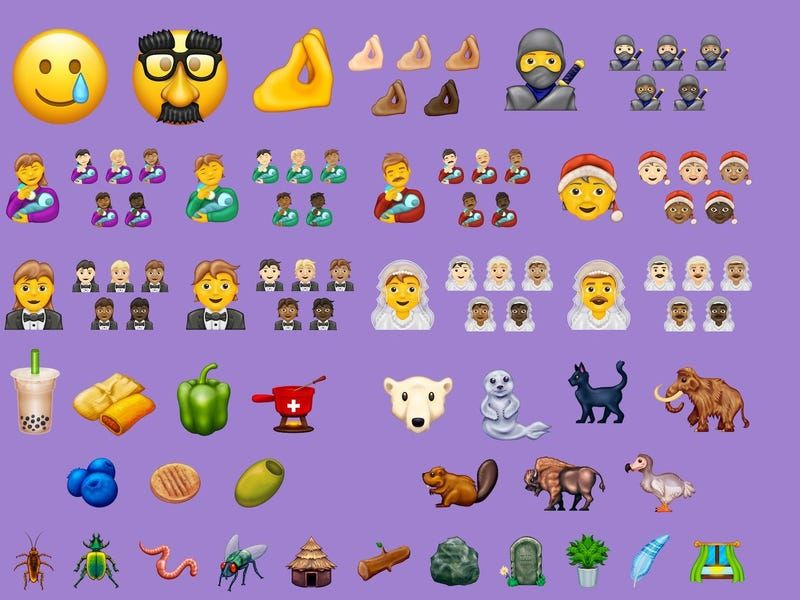 These Are All The New Emoji In The Latest Ios Update In 2020 Emoji Trans Flag New Emojis