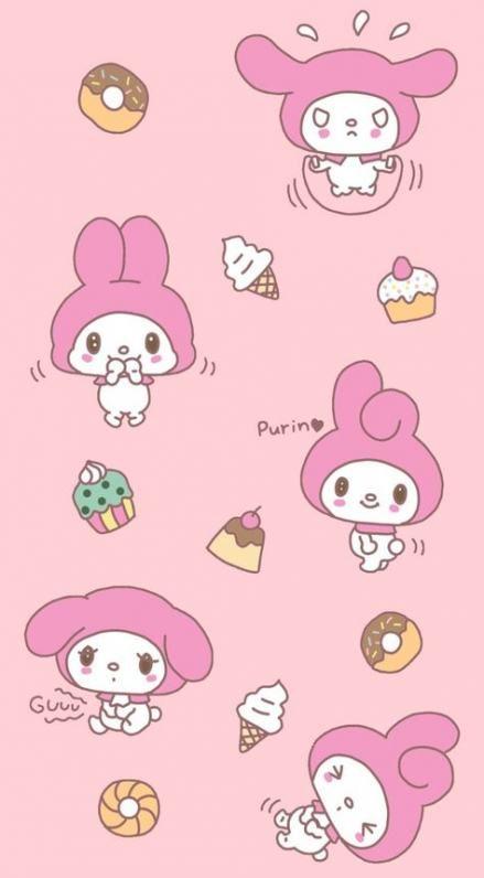 38 Ideas Wallpaper Phone Cute Kawaii My Melody