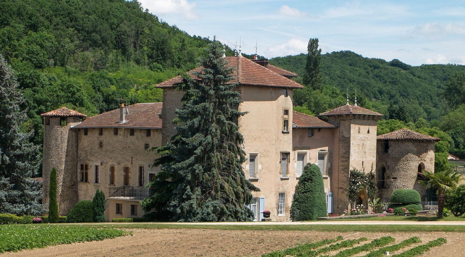 Chateau De La Saone Lens Lestang Drome France France Rhone Rhones Alpes