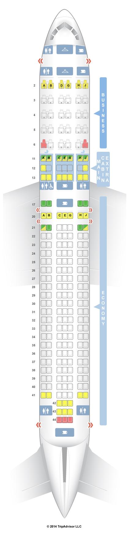 Boeing 767 300 Seating Chart Icelandair Www