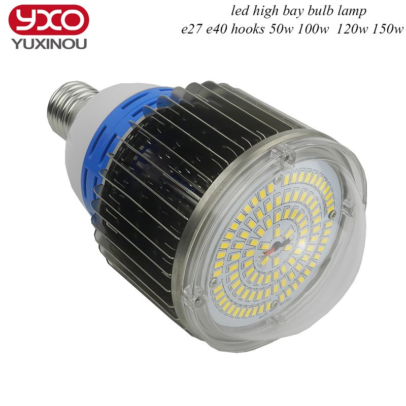 120w 150w 200w 250w E27 E40 Led Industrial High Bay Lighting 100w 120w Led Bulb Lamp For Sewing Machine Facotry Warehouse High Bay Lighting Led Bulb Bulb