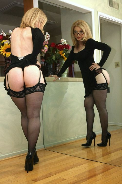 Stockings mature gilf