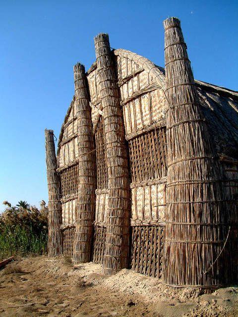 Les maisons de roseaux d\u0027Irak\u2026 Merveilles architecturales! Bóveda - construire une maison au mali