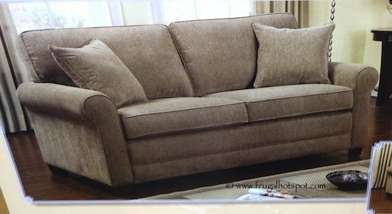 6-piece modular fabric sectional. #costco #frugalhotspot
