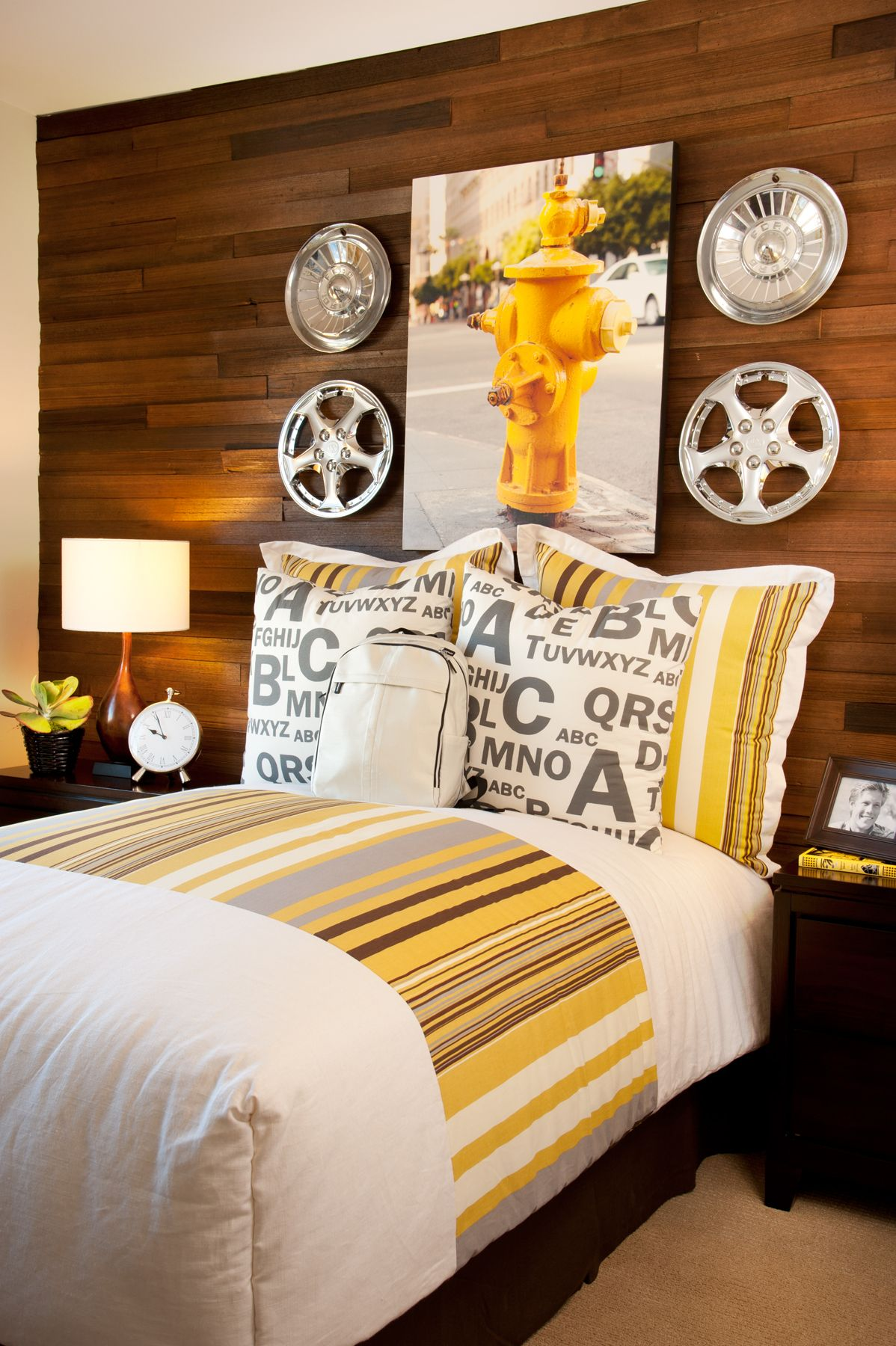 Master bedroom interior design plan  Yellow Theme in a Plan One Bedroom at Maricel by Davidson