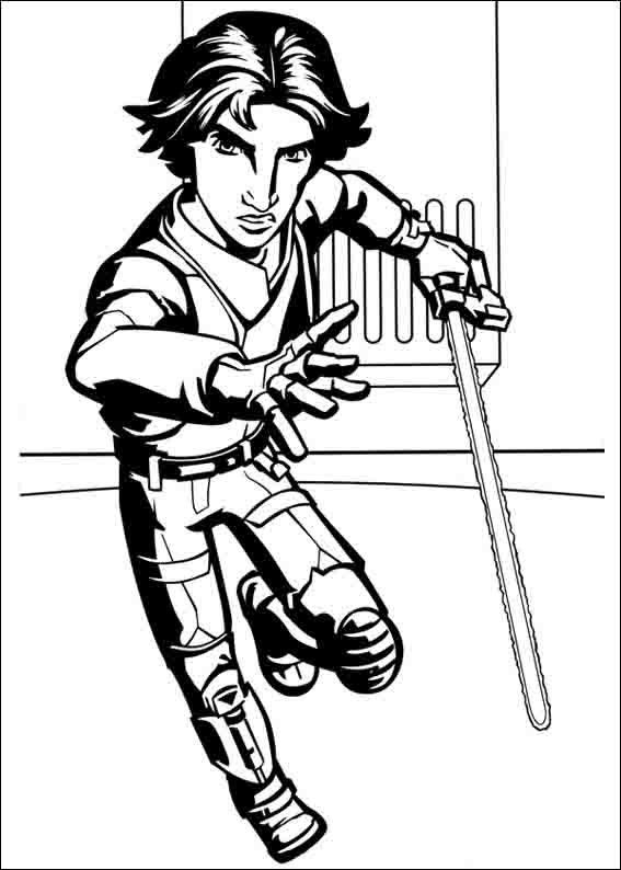Star Wars Rebels Coloring Pages 4 | Coloring pages for kids | Pinterest