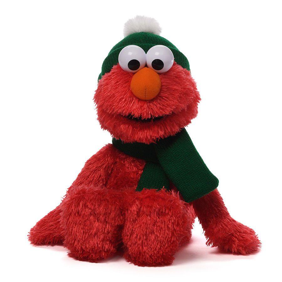 Gund Sesame Street Winter Holiday Elmo 13 Sesame Street