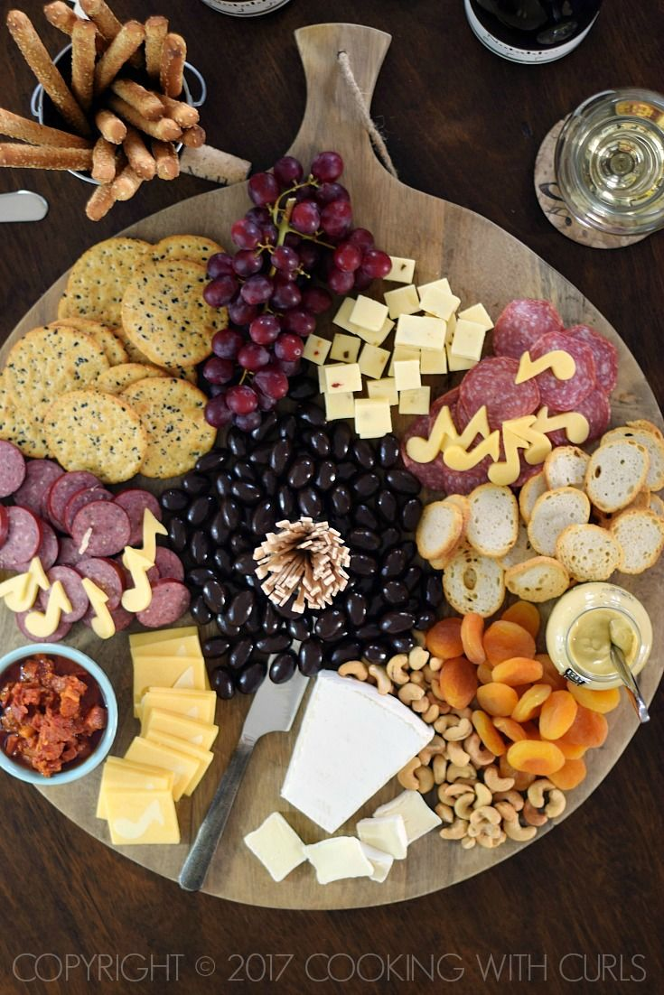 The Ultimate Appetizer Board - Cooking With Curls