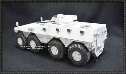 DISTRICT 9 - MNU APC Casspir free paper model download | Models ...