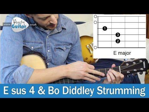 Esus4 Guitar Chord & Bo Diddly Rhythm Guitar Lesson! | Guitar Songs ...
