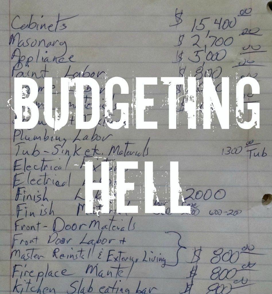 Developing a Remodel Timeline and Budget! diyremodeling