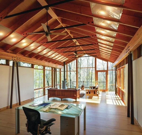 James cutler architect guest house and artist studio in for Jim cutler architect
