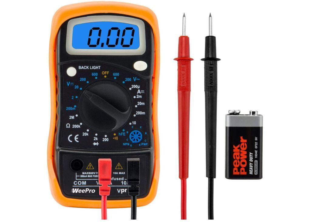 Best Digital Multimeter 2020 Voltage And Current Tester In 2020 Multimeter Volt Ampere Ohms