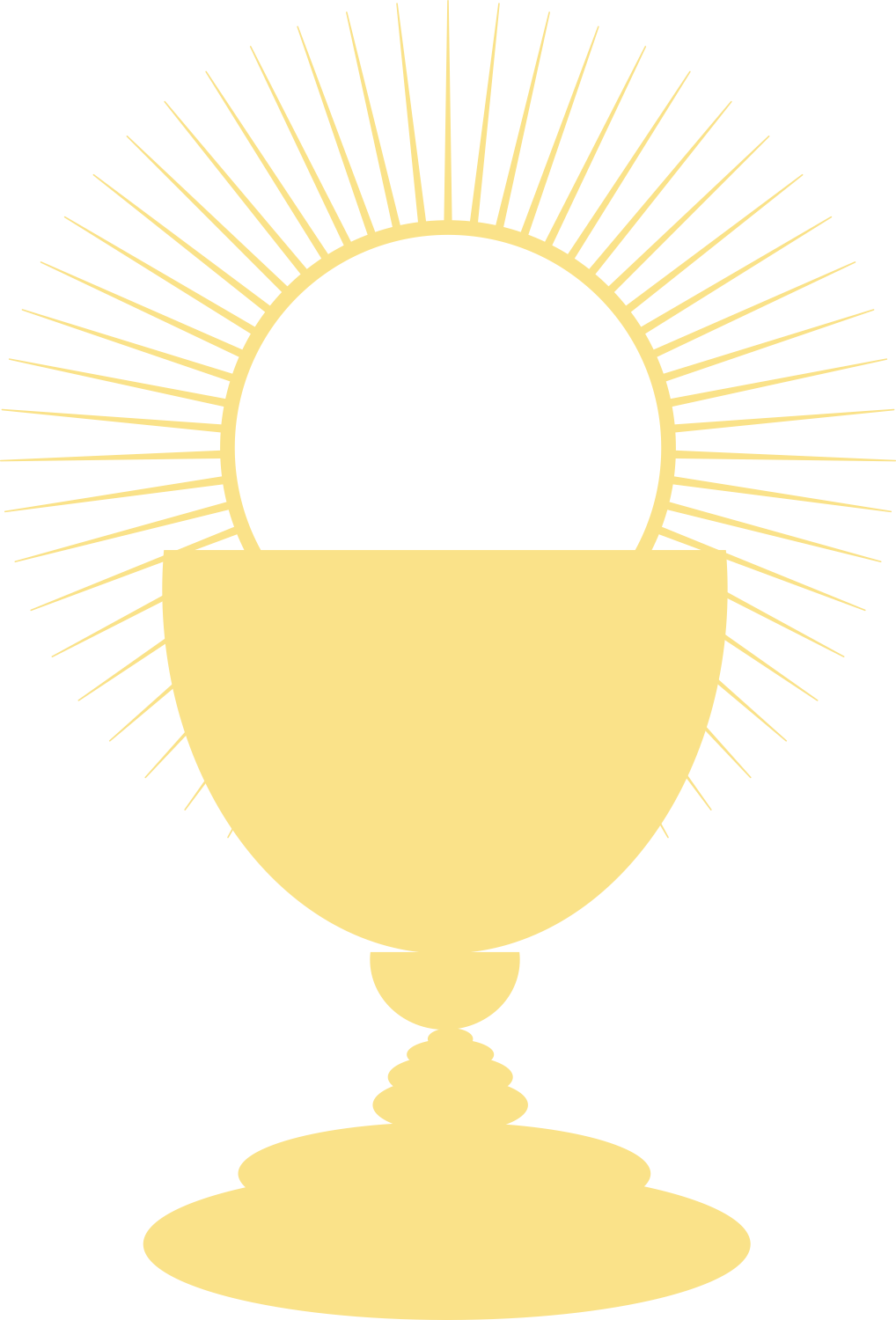Chalice And Host Coloring Page