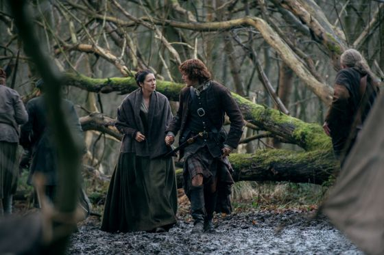 Image result for jamie and claire episode 213