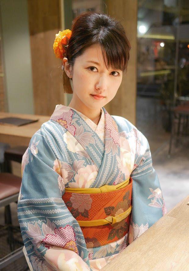 e14db6a8e1111a 春の着物美人 | 着物美人【2019】 | 着物 美人、着物、京都 浴衣