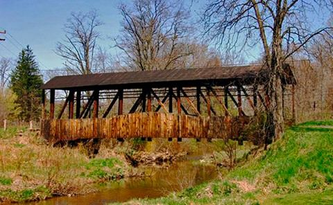 Cuppetts Bridge Bedford County Pa Covered Bridges