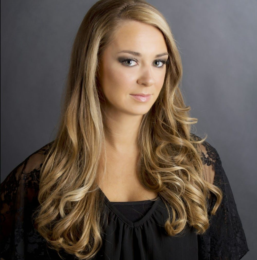 Beautiful balayage hair color for light skin tone with